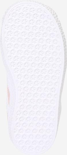 ADIDAS ORIGINALS Sneaker 'Gazelle' in rosa / weiß: Ansicht von unten