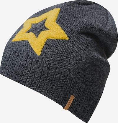 Barts Mütze in gelb / grau, Produktansicht