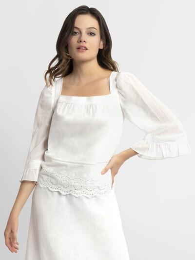 APART Bluse in naturweiß, Modelansicht