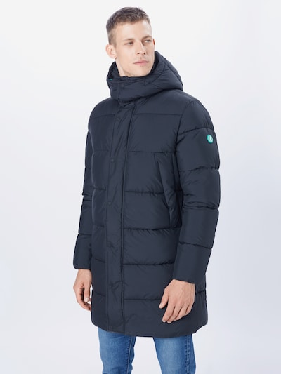 SAVE THE DUCK Winterjas 'Recyy' in de kleur Zwart, Modelweergave