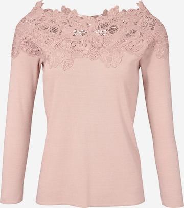 heine T-shirt i rosa