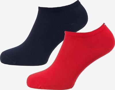 TOMMY HILFIGER Socken in navy / feuerrot, Produktansicht