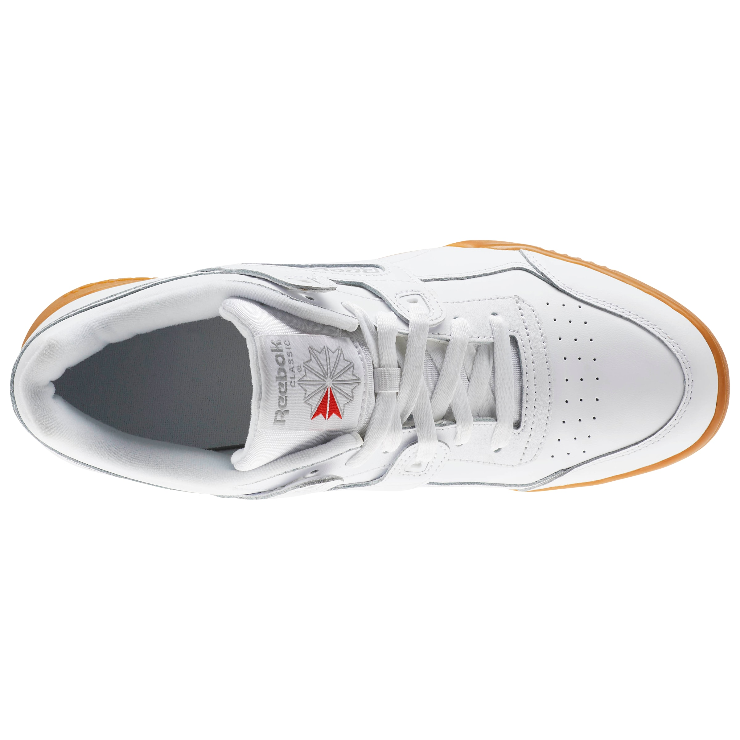 Classic Plus' CognacWeiß Sneaker 'workout In Reebok 8w0PkXnON