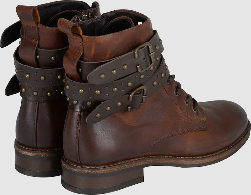 BUFFALO Boots Boots BUFFALO  Bootie Laces Belts Studs 19aee9