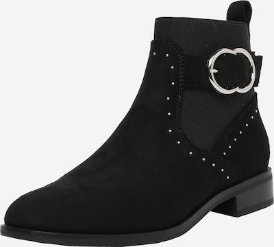ONLY Ankelstøvler 'BOBBY' i sort / sølv, Produktvisning