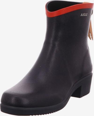 AIGLE Stiefel in navy / rot, Produktansicht