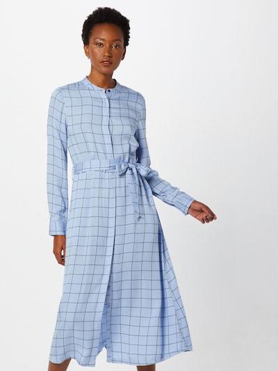MOSS COPENHAGEN Kleid 'Meline Alana LS Dress AOP' in blau, Modelansicht
