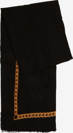 Marie Lund Schal in orange / schwarz, Produktansicht