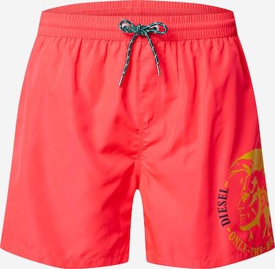 DIESEL Plavecké šortky 'WAVE' - žlutá / pink, Produkt