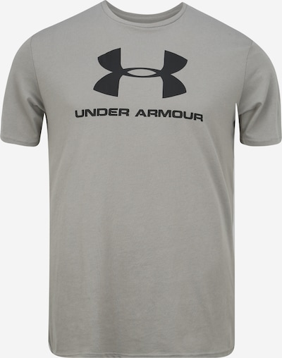 UNDER ARMOUR Functioneel shirt in de kleur Kaki / Zwart, Productweergave