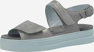SEMLER Sandalen/Sandaletten in graphit, Produktansicht