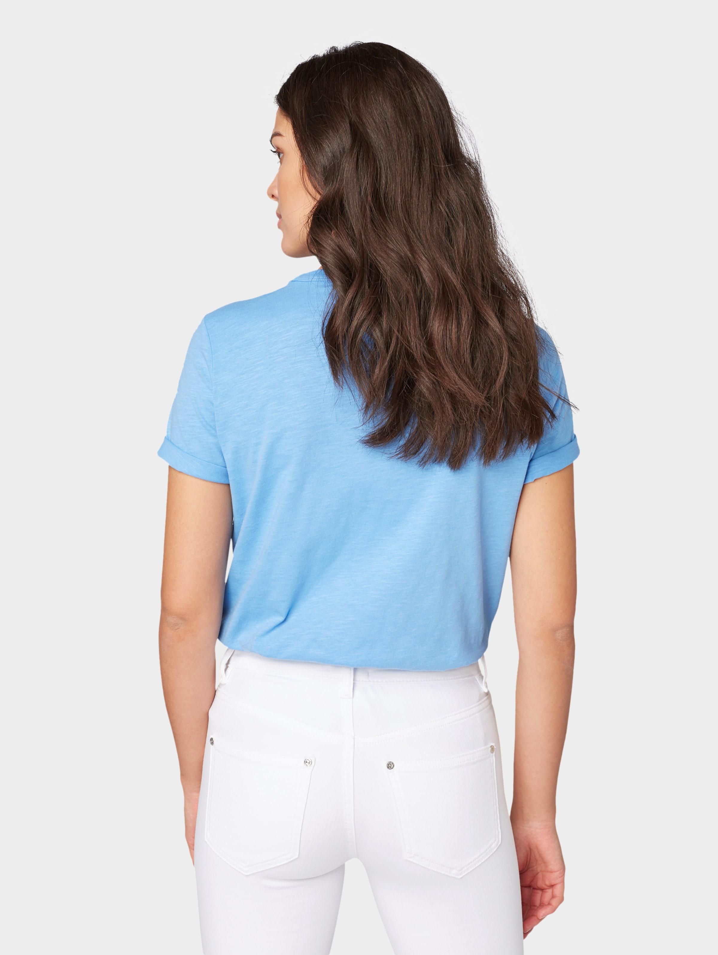 shirt In Tailor Tom T BlauRot Weiß 8XN0OwPnk