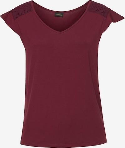 LASCANA T-shirt en violet rouge: Vue de face