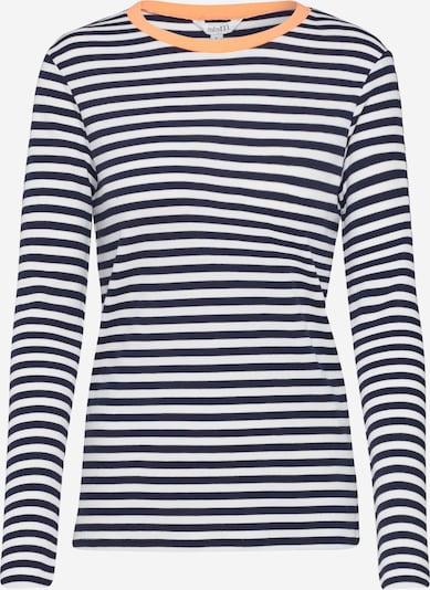 Tricou 'Lindsay Contrast' mbym pe albastru / alb, Vizualizare produs