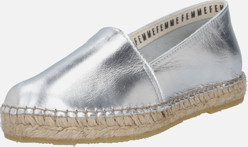 SELECTED FEMME Slipper 'MARIE' in silber, Produktansicht