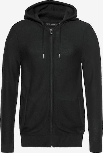 BRUNO BANANI Strickjacke in schwarz, Produktansicht