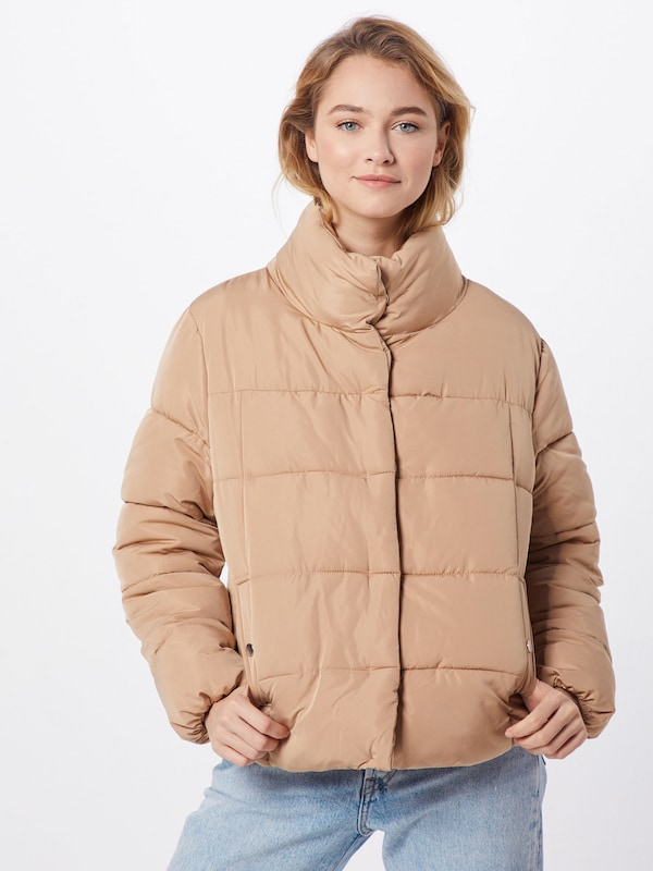 ABOUT YOU Limited Jacke 'Cassandra' by Christina Biluca in beige: Rückansicht