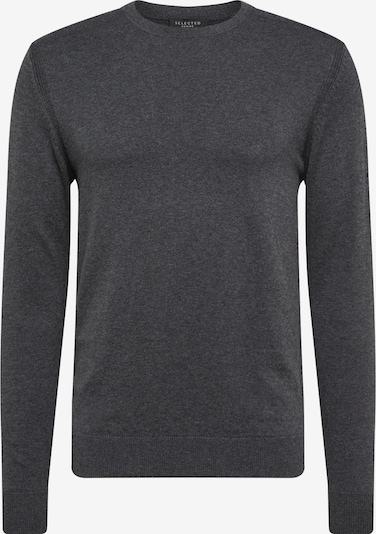 SELECTED HOMME Pullover 'SLHDANIEL CREW NECK B NOOS' in graumeliert, Produktansicht