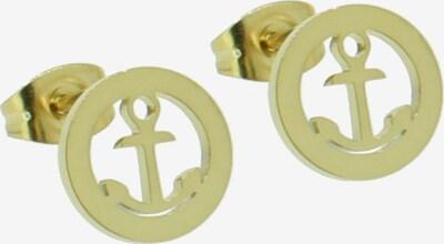 Hafen-Klunker Ohrstecker in gold, Produktansicht