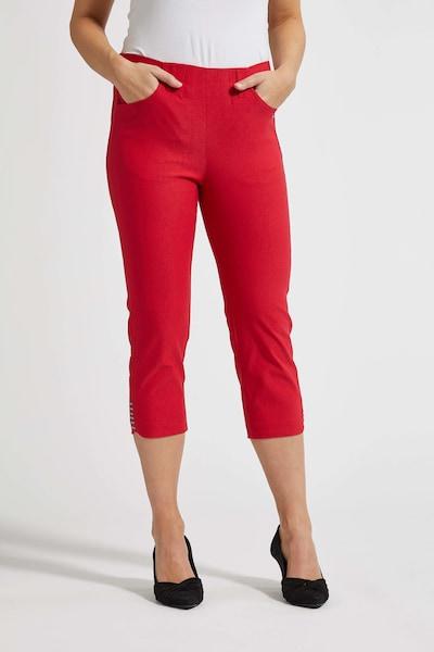 LauRie 3/4-Hose 'Dora' im eleganten Look in rot, Produktansicht