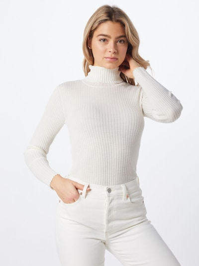 SELECTED FEMME Pullover 'SLFCOSTA' in weiß, Modelansicht
