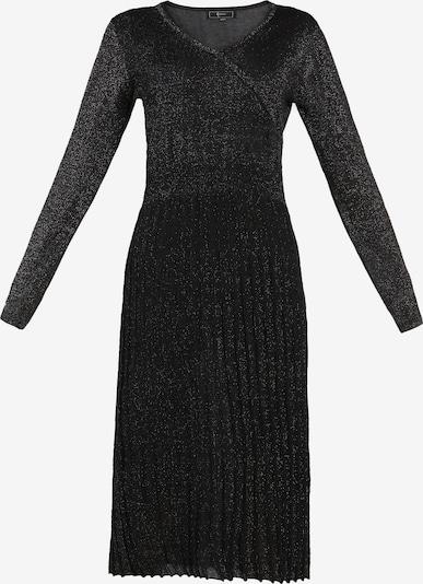 faina Strickkleid in schwarz, Produktansicht