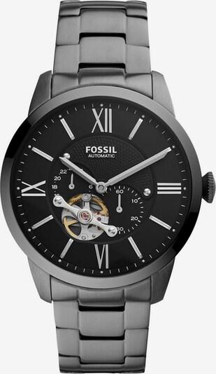 FOSSIL Uhr 'Townsman' in schwarz / silber, Produktansicht