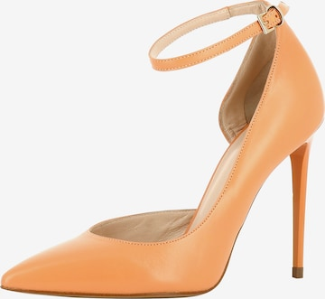 Escarpins à bride arrière 'ALINA' EVITA en orange