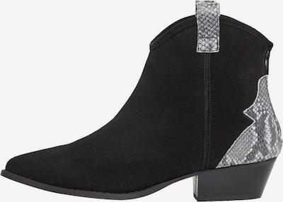 Bianco Cowboystiefel in grau / schwarz, Produktansicht