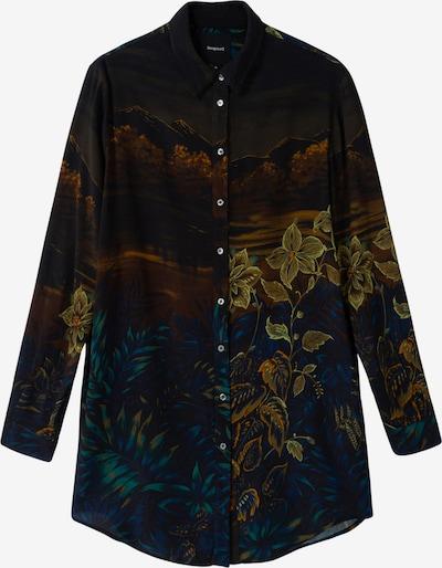 Camicia da donna Desigual di colore colori misti / nero, Visualizzazione prodotti