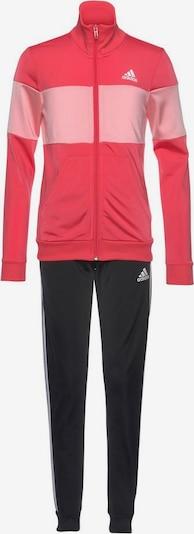 ADIDAS PERFORMANCE Trainingsanzug in pitaya / hellpink / schwarz, Produktansicht