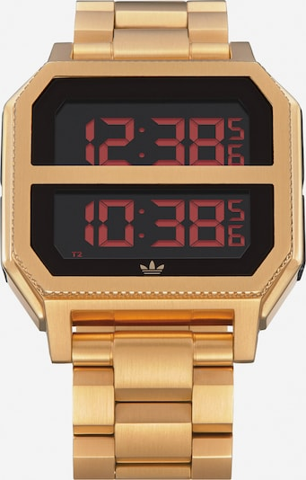 ADIDAS ORIGINALS Uhr 'Archive MR2' in gold, Produktansicht
