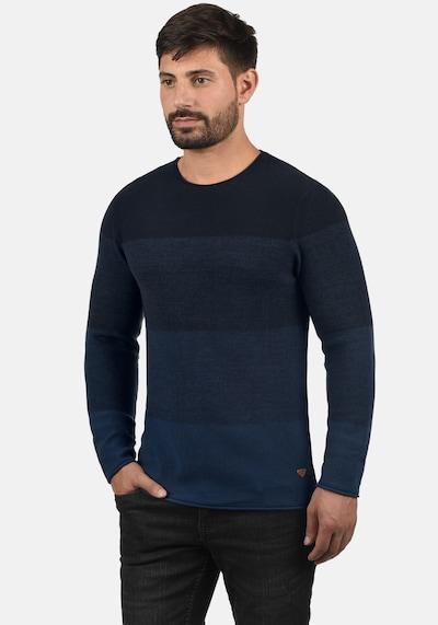 BLEND Trui 'Benno' in de kleur Donkerblauw, Productweergave