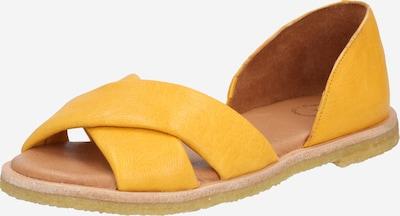 Ca Shott Sandale in dunkelgelb, Produktansicht