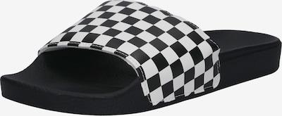 VANS Badeschuhe mit Statement-Print in schwarz / weiß, Produktansicht