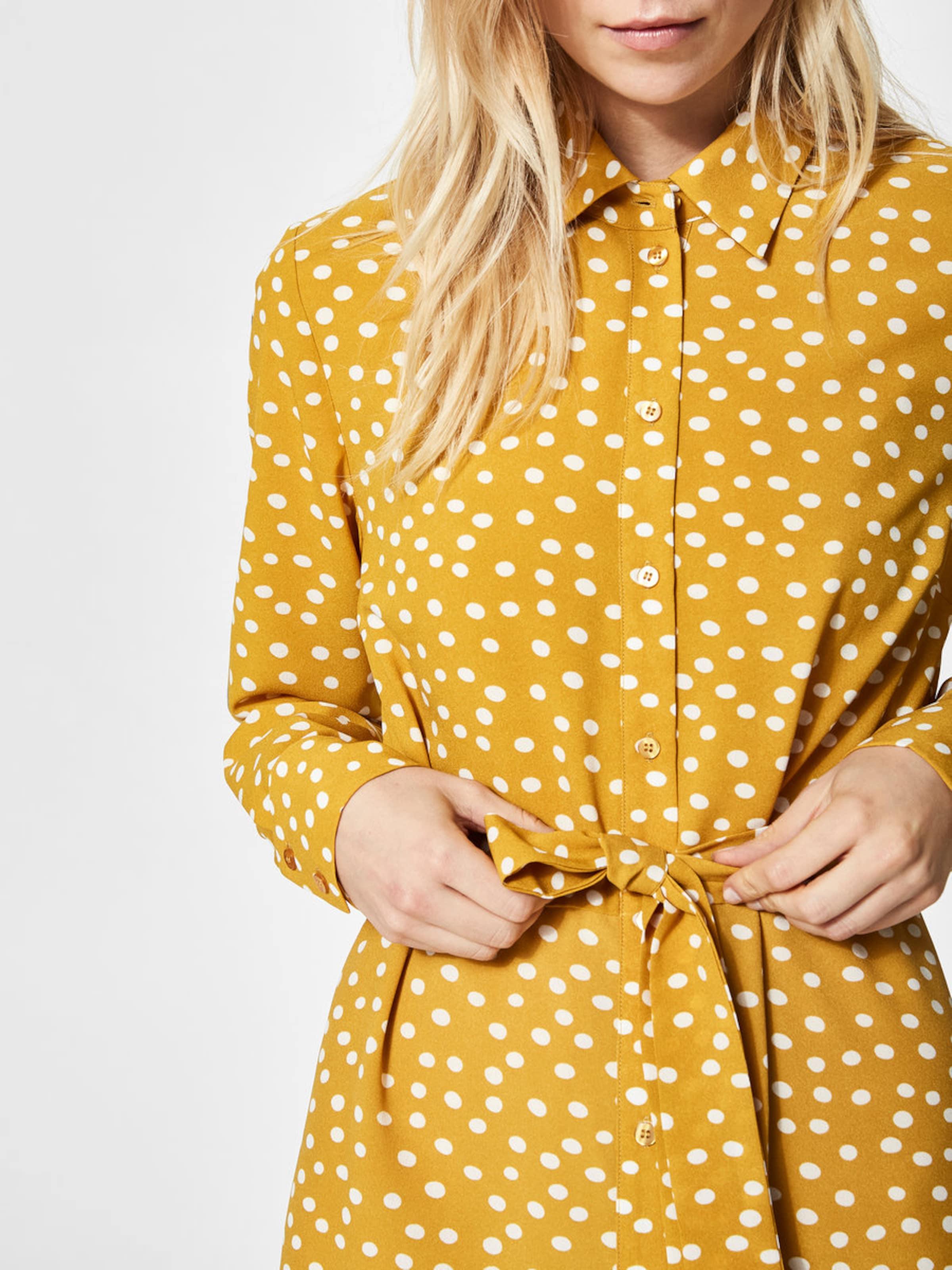 SELECTED FEMME Kleid mit langen Ärmeln Print Neue Stile Günstig Online Finden Große Zum Verkauf Billig Verkauf Angebote Freies Verschiffen Ebay Billigste Zum Verkauf MTUIWwCJon
