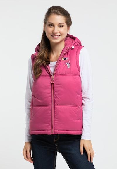 MYMO Weste in pink, Modelansicht