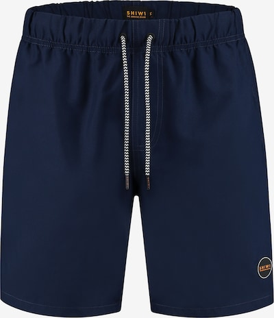 Shiwi Badehose 'Solid mike' in navy, Produktansicht