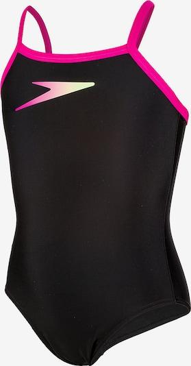 SPEEDO Badeanzug 'Candybounce' in neonpink / schwarz, Produktansicht