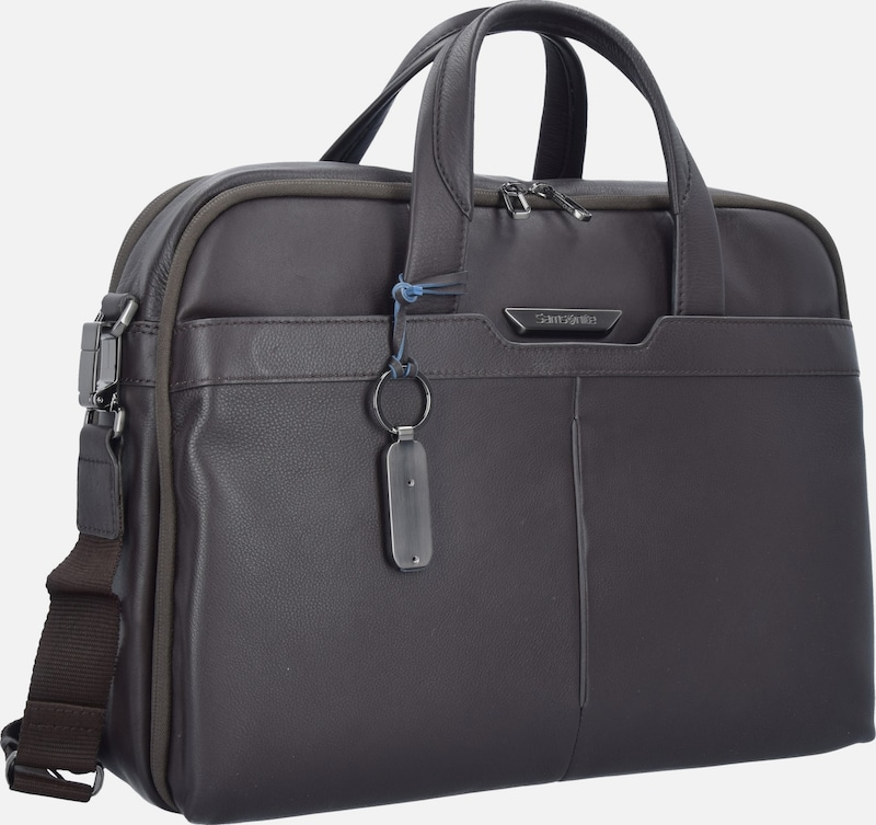 SAMSONITE Sygnum Aktentasche Leder 42 cm Laptopfach