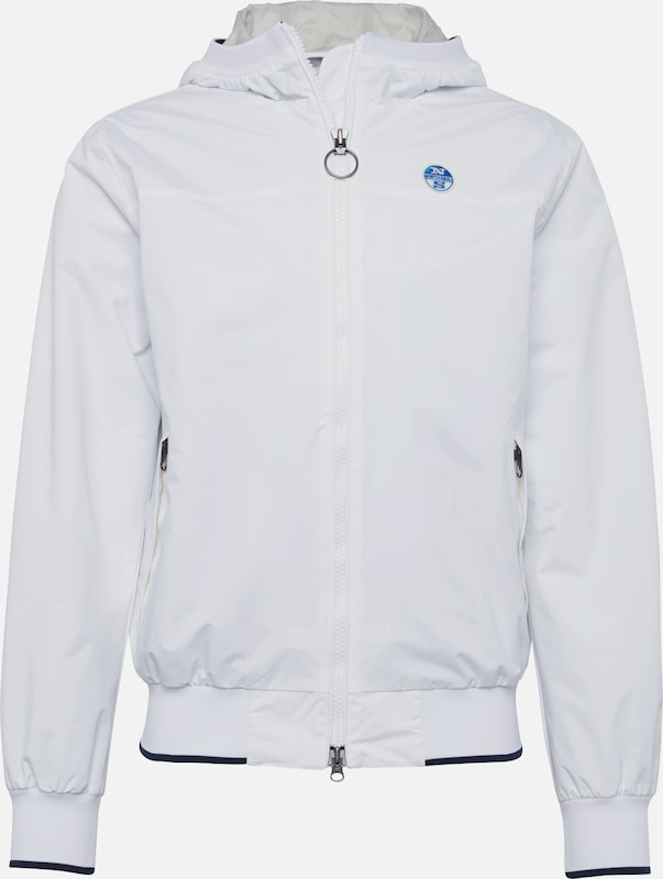 saison North Sails Mi En Hooded' Blanc 'sailor Veste FJlK15T3uc