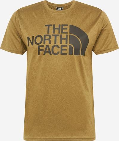 THE NORTH FACE Sportshirt in khaki / schwarz, Produktansicht