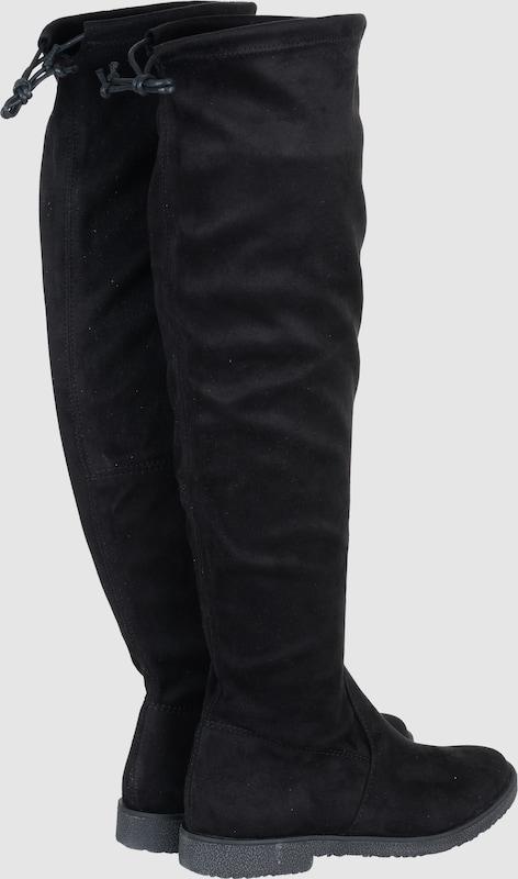 MARCO TOZZI Schuhe | Overknees aus stretchigem Textil Schuhe TOZZI Gut getragene Schuhe a6340d