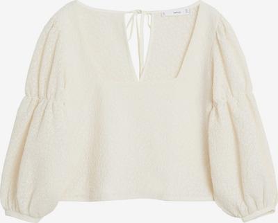 MANGO Bluza 'CAMISETA STUART' | naravno bela barva, Prikaz izdelka