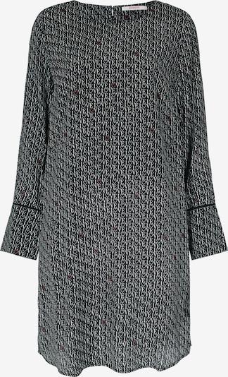BLOOM A-Linien-Kleid mit Rundhalsausschnitt in schwarz, Produktansicht
