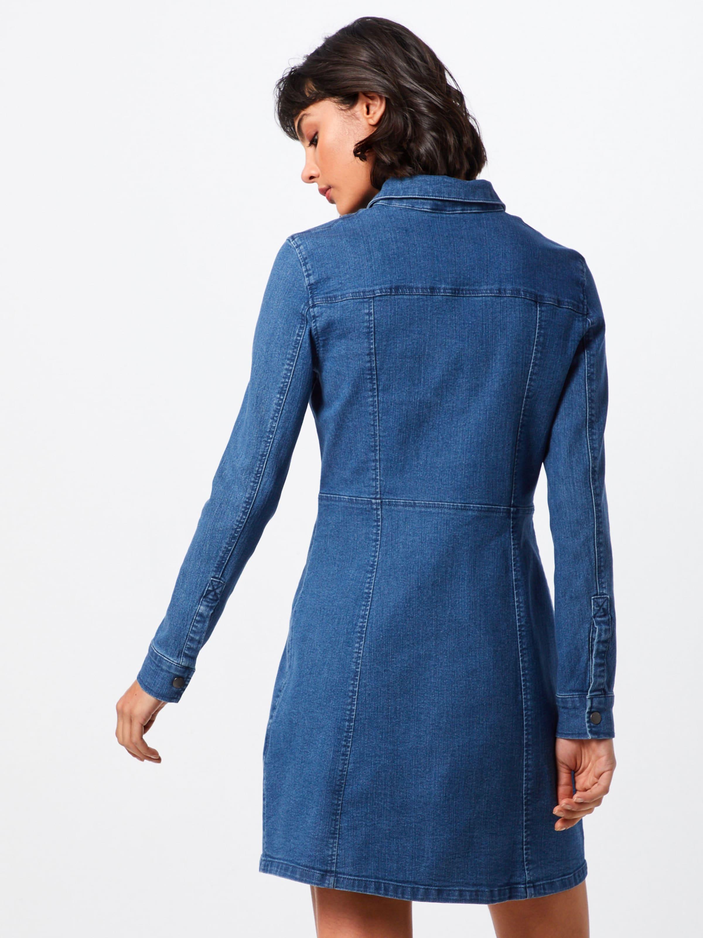 May Robe Denim 'lisa' Noisy Bleu En chemise wOX8knP0