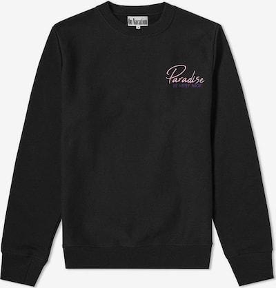 On Vacation Sweatshirt in schwarz: Frontalansicht