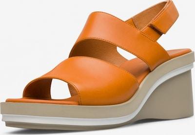 CAMPER Sandale 'Kyra' in orange: Frontalansicht