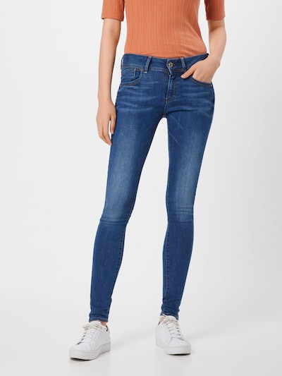 G-Star RAW Jean 'Lynn' en bleu denim: Vue de face