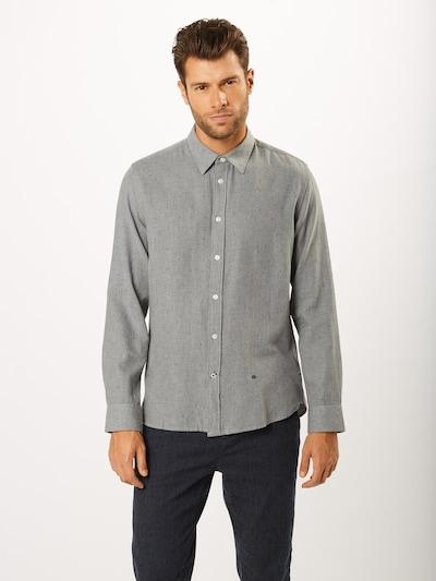 Pepe Jeans Biroja krekls 'EDGAR' pieejami raibi pelēks: Priekšējais skats
